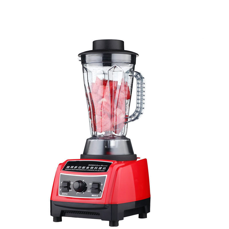 1800W Commercial Blender Mixer Juicer Food Processor Smoothie Bar Fruit Electric Food Machine multi function kitchen cooking machine commercial blender food mixer 1 2l home food processing machine fruit food processor