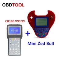 2018 нового поколения CK-100 V99.99 Универсальный с мини-zed-bull Авто ключевой программист CK100 с multi-языком транспондер