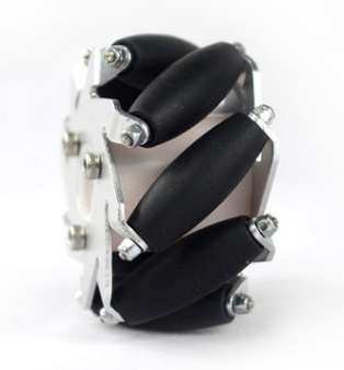 4pcs 14159 60mm Mecanum Wheel Omni Wheel Omnidirectional Typre For Arduino 60 Mm Aluminum Wheels DIY Smart Robot Car Chassis RC