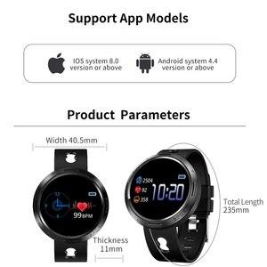 Image 5 - BINSSAW Sport Smart Watch Android Ios Fitness Tracker Blood Pressure Heart Rate Tracker Men Wristband Women Multi language Watch