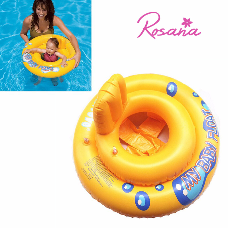 2 In 1 Baby Inflatable Seat Swimming Ring Removable Baby Armpit Circle Seat Assembly Pool Float Bathroom Buoyancy Water Ring