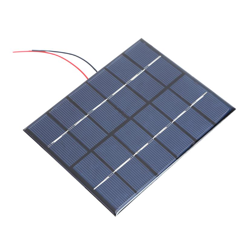 Chargers Portable 2w 6v 330ma Polysilicon Diy Solar Power Panel Battery Panel Kit For Light Battery Cell Phone Toys Chargers Kit