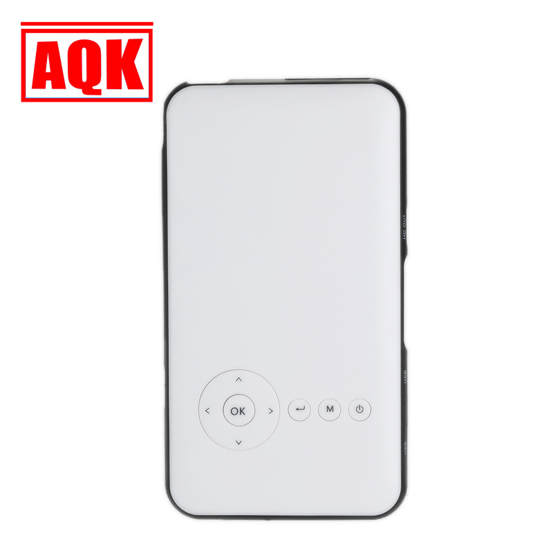 4200 mah Batería S6 Mini Pocket Proyector DLP Proyector Android Bluetooth Wifi T