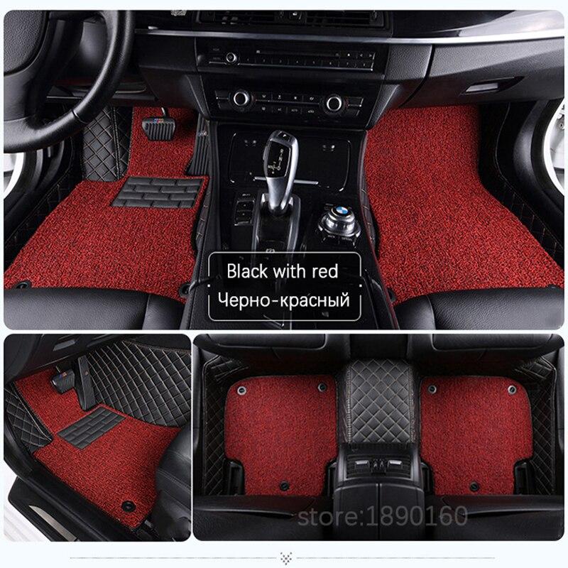Op maat gemaakte automatten voor Hyundai All Models solaris ix35 30 - Auto-interieur accessoires - Foto 6