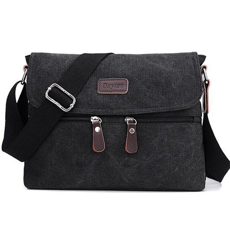 NEW Men Bag High Quality Multifunction Men Canvas Bag Casual Travel Bolsa Masculina Men's Crossbody Bag Messenger Bags L4-2584