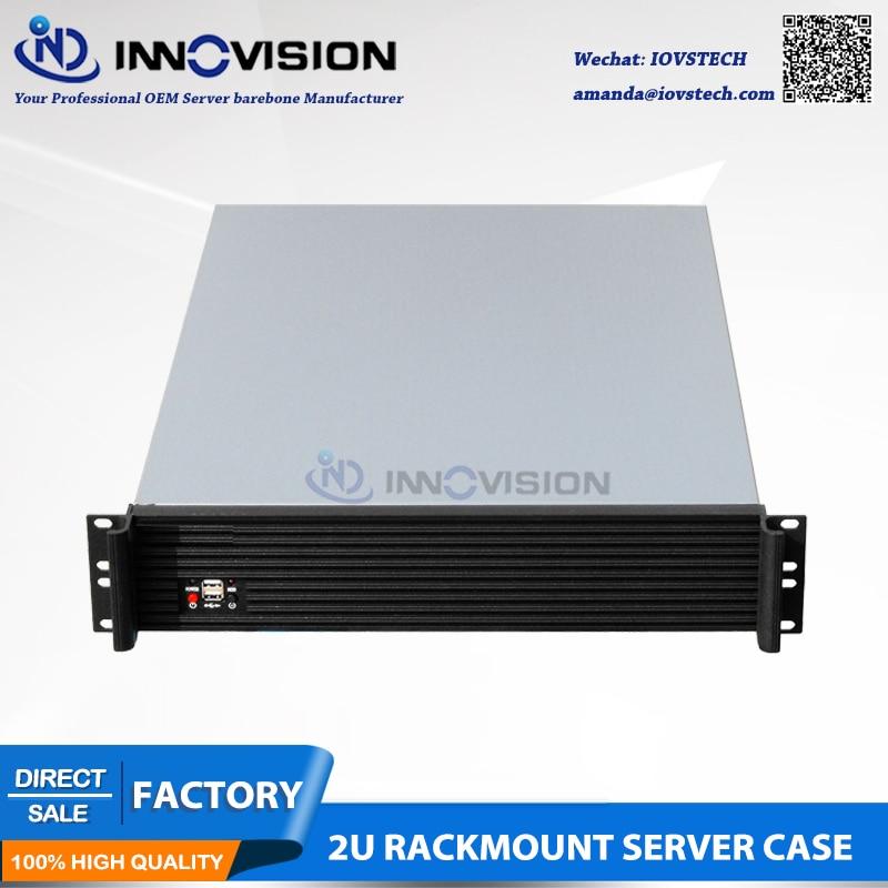 Elegancka obudowa serwerowa do montażu w szafie rack 2U RC2650L L = - Komputery przemysłowe i akcesoria - Zdjęcie 5