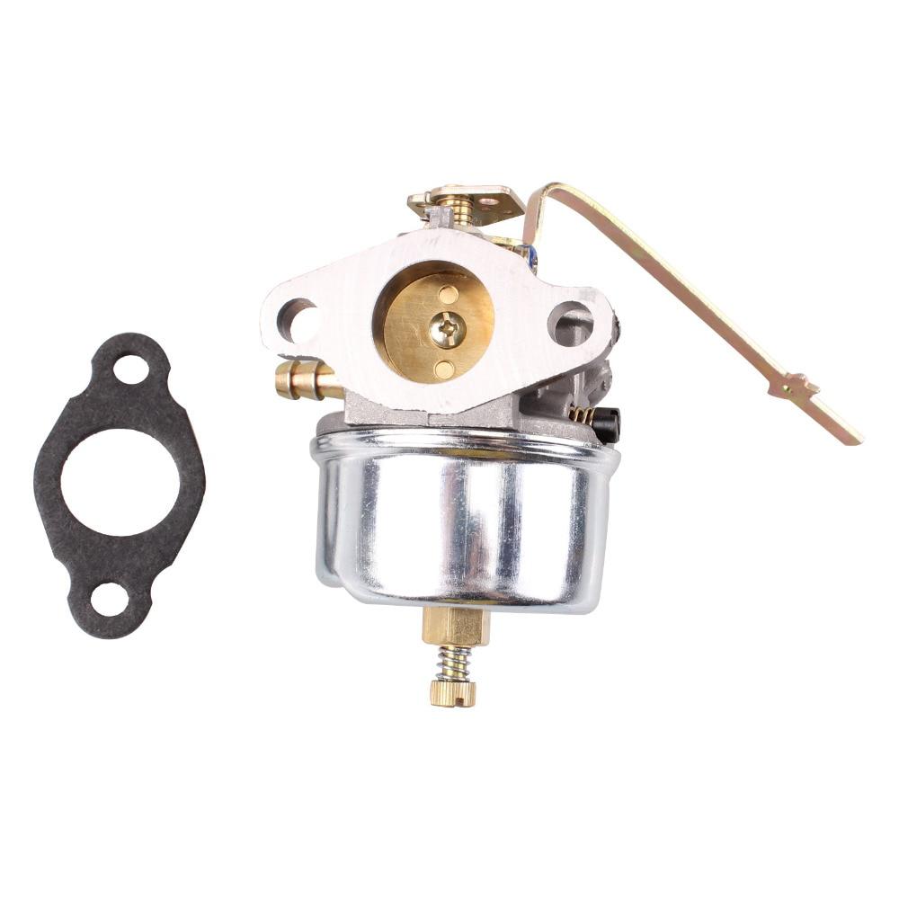 Joint de carburateur de carburateur de moto pour Tecumseh 632615 632208 632589 H30 H35 H50 631820 pièces métalliques argentées pièces de moteur de moteurs
