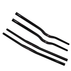Image 1 - UD matte Full Carbon Small diameter  MTB Flat Rise 25.4*42/44/46/48/50/52/54/56/58/60/62/64/66/68/70cm  Mountain Bike  Handlebar