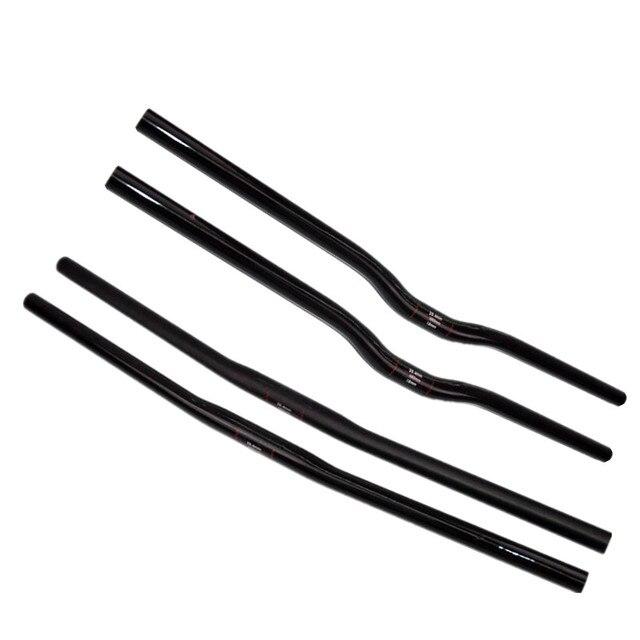 UD matte Full Carbon Small diameter  MTB Flat Rise 25.4*42/44/46/48/50/52/54/56/58/60/62/64/66/68/70cm  Mountain Bike  Handlebar
