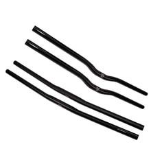UD matte คาร์บอนไฟเบอร์ขนาดเล็กเส้นผ่าศูนย์กลางแบน MTB Rise 25.4*42/44/46/48/50 /52/54/56/58/60/62/64/66/68/70 ซม. Mountain Bike Handlebar