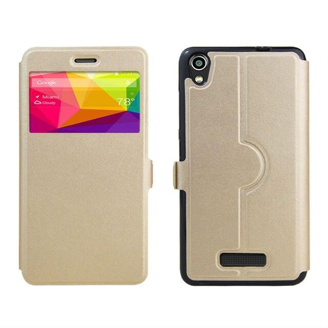 high quality PU skin leather case cover shield For BLU Studio M HD S110L S110U