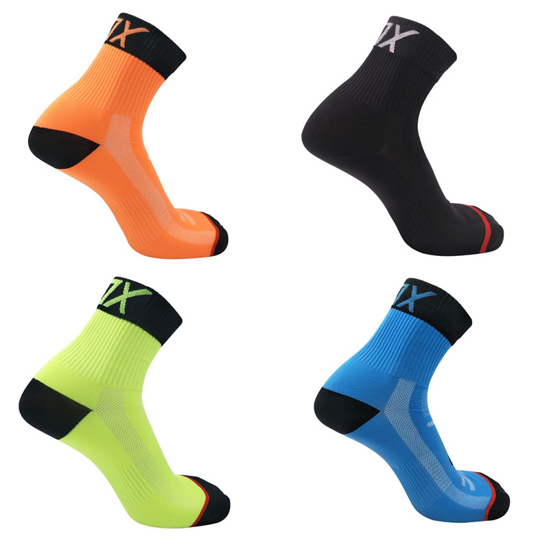 Riding Cycling Socks Breathable Outdoor Exercise Sports Socks Compression Athletic Socks for Men size 39-46