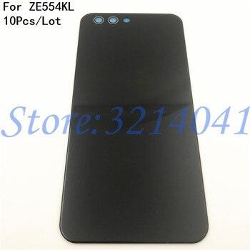 "10Pcs/Lot 5.5"" For ASUS Zenfone 4 ZE554KL Back Battery Cover Door Rear Glass Housing Case For ASUS ZE554KL Battery Cover +Logo"