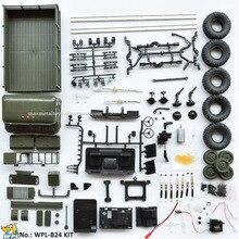 Car Carrinho-De-Controle Wpl B24 Rc-Truck Racing-Car Off-Road-Simulation 4WD DIY 1:16-Kit