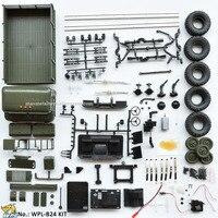 WPL B24 1:16 KIT DIY RC Truck 4WD 2.4G Off road Simulation Racing Car Radio Controlled Car Carrinho de controle