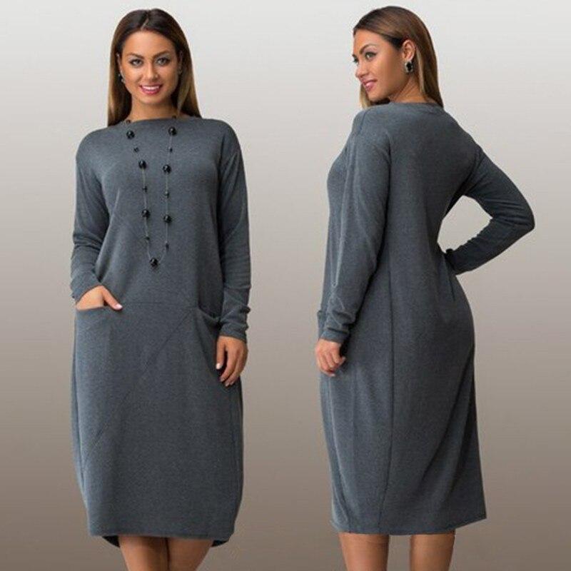 Aliexpress.com : Buy XL 6XL plus size casual women dress ...
