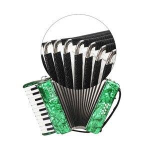 Image 4 - 22 คีย์ 8 Piano Accordion สายรัดถุงมือทำความสะอาดผ้าการศึกษาเครื่องดนตรีสำหรับนักเรียนเริ่มต้น Childern