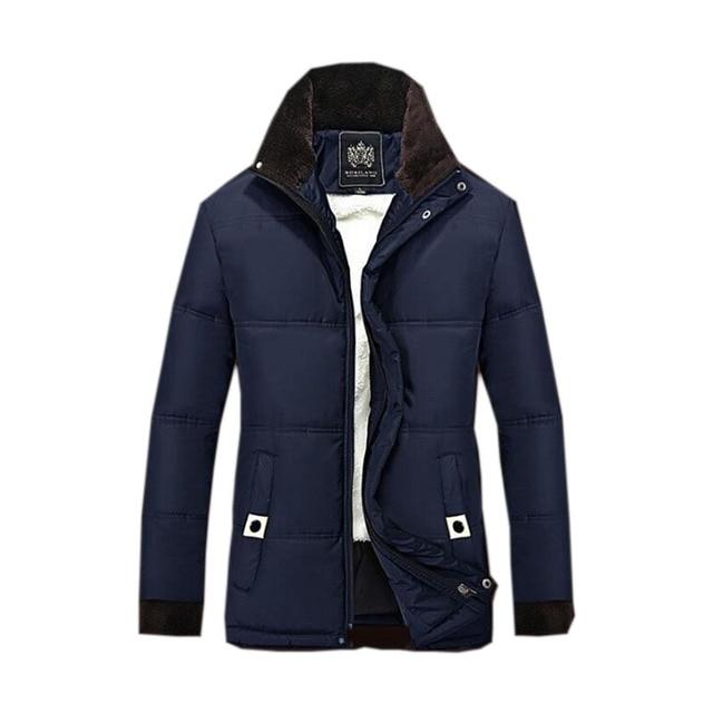 Delicate Design Man Thick Warm Coats Plus Size M-4XL Good Quality  Men Winter  Down Jackets parka detachable hat outerwear