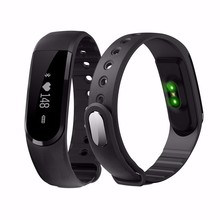 Bluetooth Smart Band ID101 монитор сердечного ритма Смарт-Браслет активности фитнес-трекер Шагомер Спорт браслет для iOS и Android
