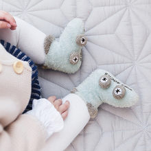 Warm Winter Baby Socks Cute Soft Autumn Newborn Baby Girls Socks Cartoon Car Anti-Slip Infant Soft Baby boy Shoe Unisex Socks(China)
