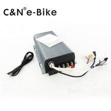 Новый стиль, электрический велосипед 3000 Вт синусоида контроллер программируемый контроллер 60A