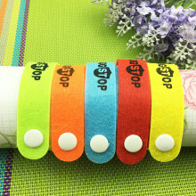 Summer 10pcse/set  Outdoor Mosquito Repellent Bracelet Hand Strap Fabric Mosquito Repellent Wrist Pest Control Repeller