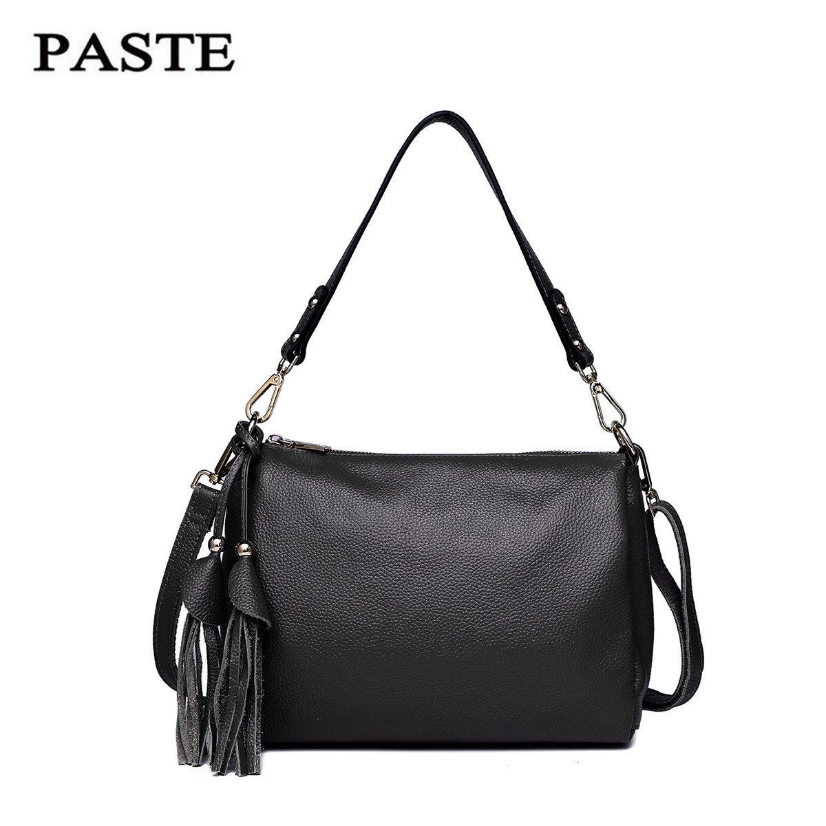 100% Nature Cowhide Summer Bags For Women Small Genuine Leather Shoulder Bag Female Designer Messenger&Cross body Bag PT47 new women bags pu leather fashion small shell bag women shoulder bag summer casual female cross body bags for women