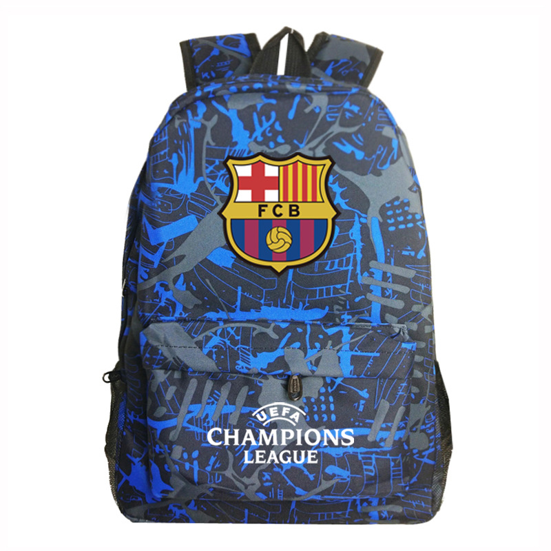 Logo Champions Backpack Bag Men Boys Barcelona Travel Bag Teenagers School Gift Kids Bagpack Mochila Bolsas Escolar