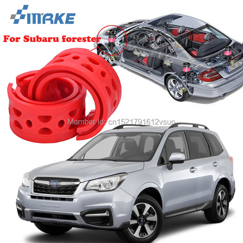 smRKE For Subaru Forester High-quality Front /Rear Car Auto Shock Absorber  Spring Bumper Power Cushion Buffer