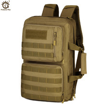 Brand Three Use Laptop Bag 35L Waterproof Nylon Military Backpacks Molle Assault Army Backpack Travel Rucksack