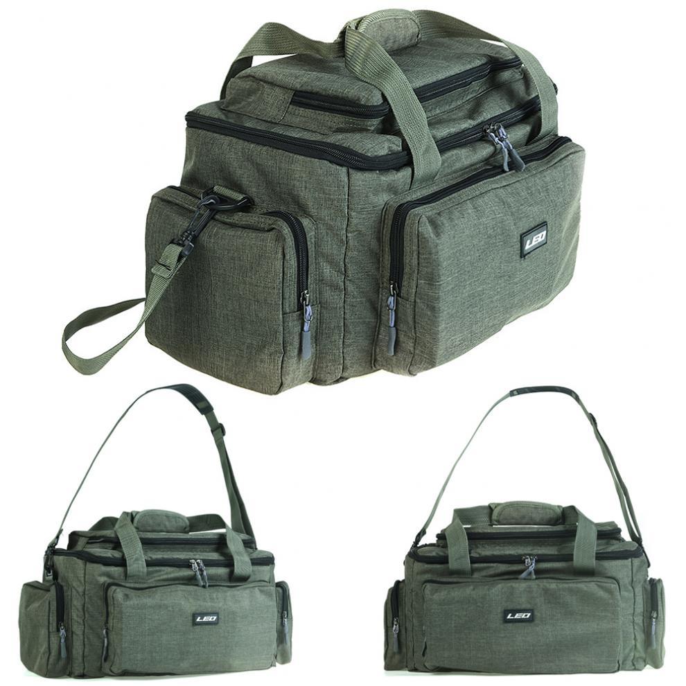 grande capacidade multifuncional saco de pesca pano de nailon ombro mensageiro reservatorio pesca equipamento carretel isca