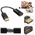 Displayport DP Male to HDMI Female Gold Plated Adapter Support Audio Video Cable for Projector Display Laptop TV