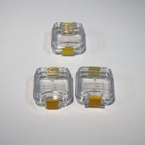 Image 2 - 70 unids/lote caja de dientes dentales de alta calidad con película almacenamiento para dentadura caja membrana contenedor para dientes funda, soporte