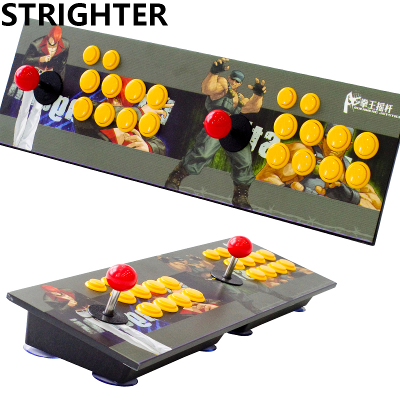 arcade joystick pc computer game usb connector King of fighters Joystick Consoles usb Stationary Double Consoles for PC pandora s box arcade joystick for ps3 controller computer game arcade sticks new street fighters joystick consoles