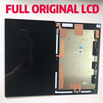 10.1 Original For Sony Tablet Z2 LCD SGP511 SGP512 SGP521 SGP541 Touch Screen Digitizer Glass LCD Display Panel Monitor Assembly original 7 inch hs1285 v071 touch screen panel lcd touch digitizer glass for tablet pc mid free shipping 10pcs