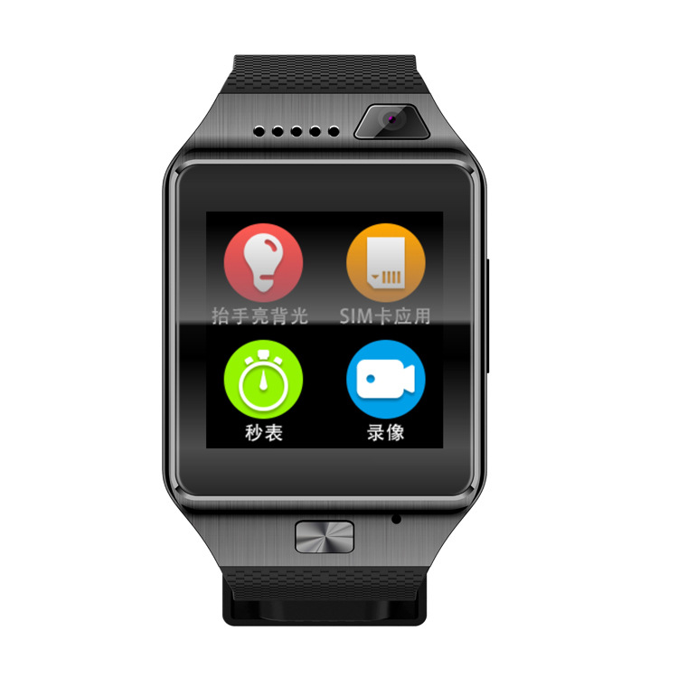 ФОТО G9 Smart Watch Clock With Sim Card Slot Push Message Bluetooth Connectivity Android Phone Better Than DZ09 Smartwatch