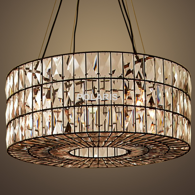 Factory Outlet Modern Crystal Chandelier Lighting Vintage Cristal Pendant Hanging Light For Home Dining Room Decoration