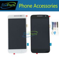 Black And White Color High Quality LCD Display And Touch Screen Digitizer For Motorola Moto G4