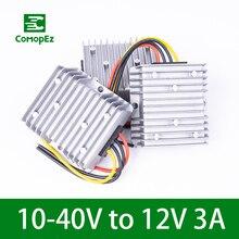 10-40V to 12V 3A DC DC Converter Reducer Regulator Voltage Stabilizer Step-up Down Power Module 36W CE RoHS Certification