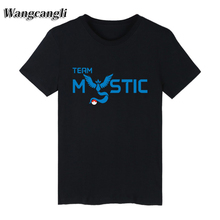 2017 New Anime Black Pokemon Go Long T-shirt Men TShirts and Short Sleeve T Shirt Men Cotton in Pocket Monster loose Tee Shirts