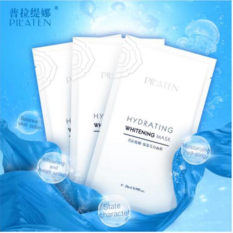 Pilaten 2pcs / Pilaten Colagen Whitening Mască de hidratare Subțire - Ingrijirea pielii