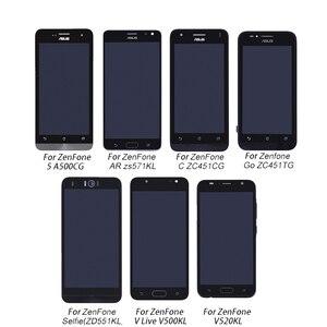 Image 1 - Asus Zenfone LCD Display+Touch screen digitizer Assembly For Asus ZenFone A500CG V500KL V520KL ZS571KL ZC451TG ZC451CG ZD551KL
