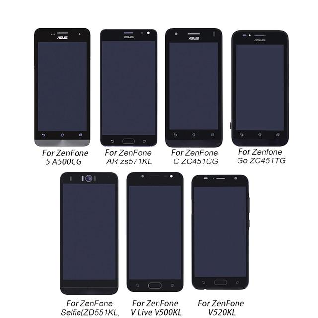Asus Zenfone LCD Display+Touch screen digitizer Assembly For Asus ZenFone A500CG V500KL V520KL ZS571KL ZC451TG ZC451CG ZD551KL