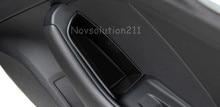 Двери автомобиля перчатки Ручка Организатор Стайлинг для Audi A3 8 В 2014-2016 внутренняя 4 * спереди и сзади ручка двери подлокотник чехол для хранения держатель