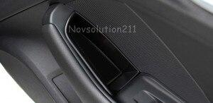 Car Door Handle Glove Organizer Styling For Audi A3 8V 2014 - 2016 Inner 4* Front + Rear Door Handle Armrest Storage Case Holder