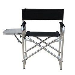 أحدث طبقة مزدوجة القطن مبطن البراز سبائك الألومنيوم كرسي الكمبيوتر للطي صالة كرسي مع منصة
