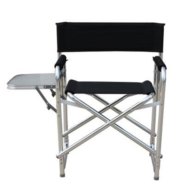 Charmant Newest Double Layer Cotton Padded Stool Aluminum Alloy Computer Chair  Folding Lounge Chair With Platform