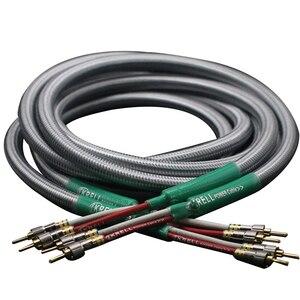 Image 1 - Głośnik hifi kabel Audio pozłacana wtyczka bananowa kabel audiofilski OFC i srebrny Krell wzmacniacz Speakon kable wiązkowe