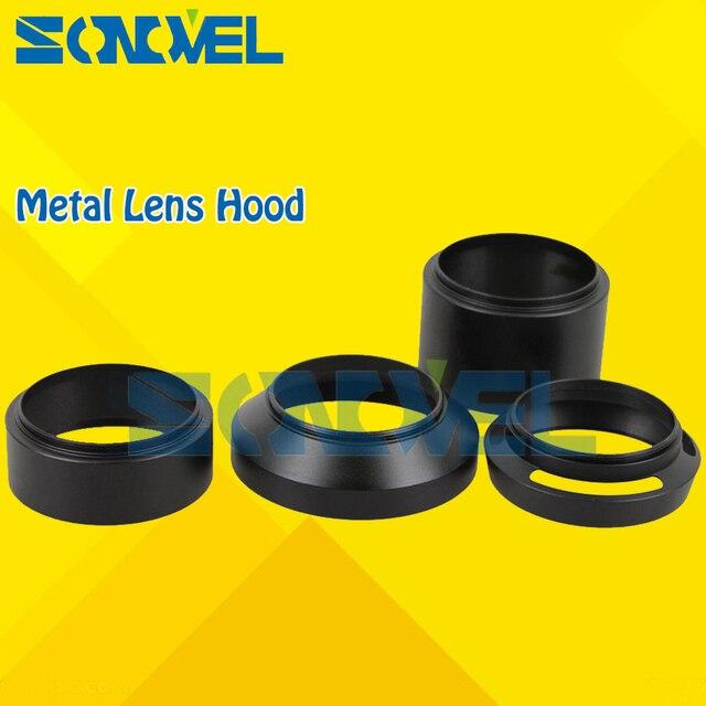 67 мм стандарт/телефото/широкий угол/вентилируемые изогнутые металлические бленды для объектива Комплект 4 шт. для Nikon D7200 D750 D810a и 18-105 мм/18-140 м...