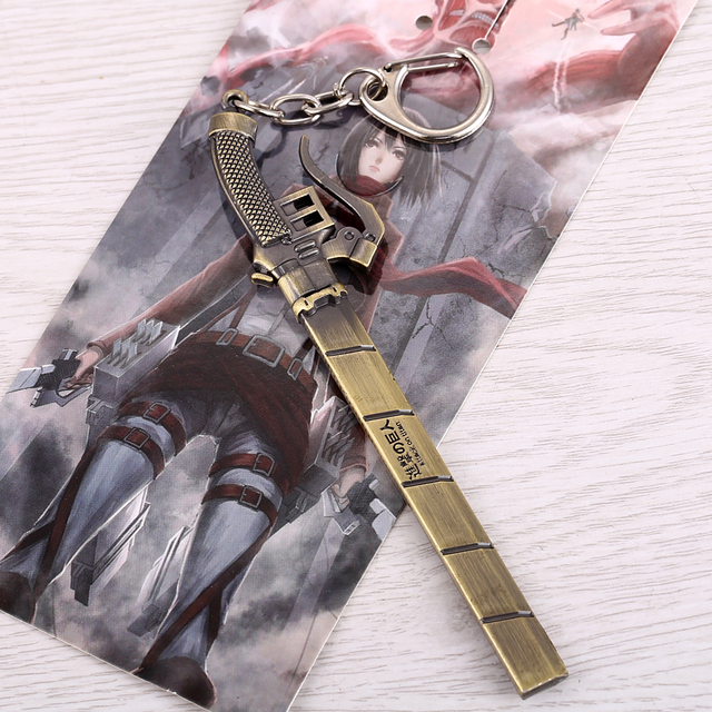 Attack On Titan Kenn Blade Sword Keychain